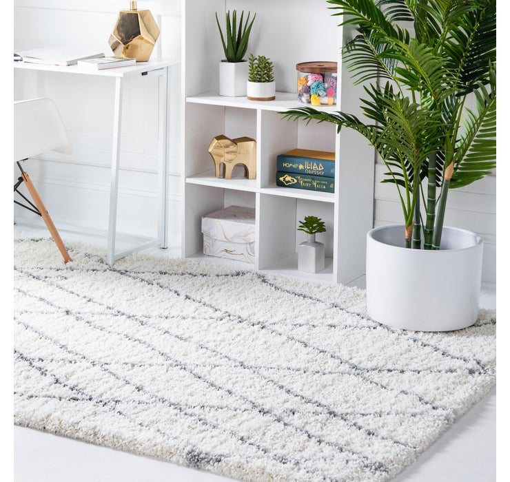 6' x 9' Soft Touch Shag Rug