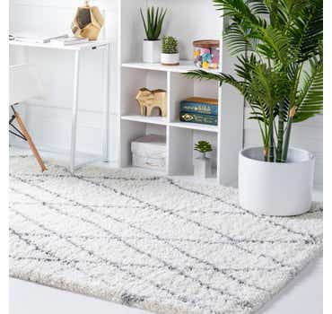 5' x 8' Soft Touch Shag Rug