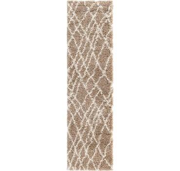 2' 7 x 10' Soft Touch Shag Runner Rug main image