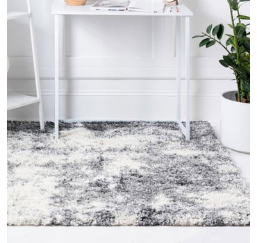 5' x 5' Soft Touch Shag Square Rug main image