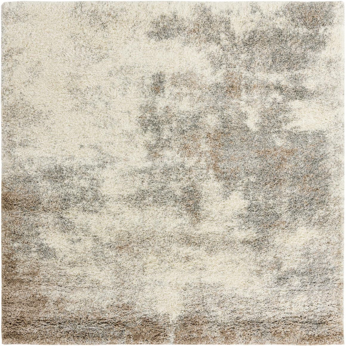 8' x 8' Soft Touch Shag Square Rug main image