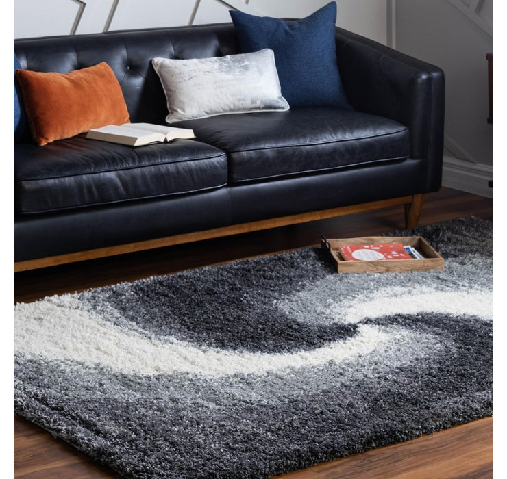 3' 3 x 5' 3 Soft Touch Shag Rug