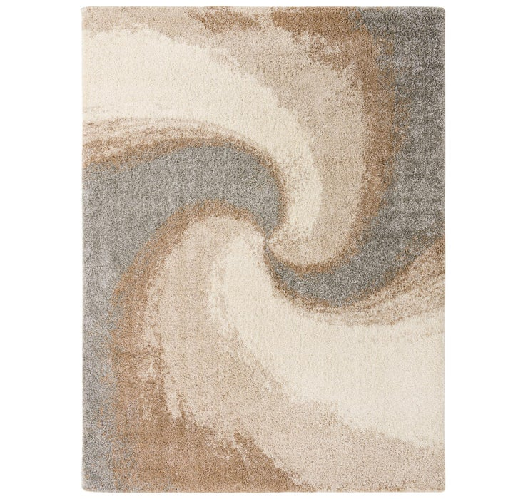 9' 10 x 13' Soft Touch Shag Rug