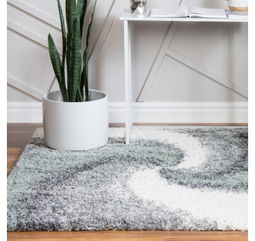 4' x 4' Soft Touch Shag Square Rug main image