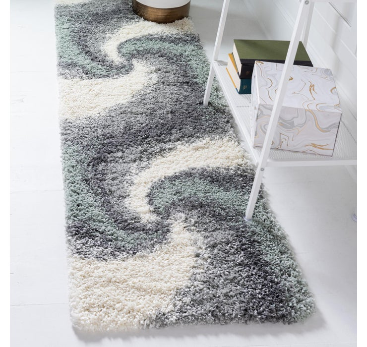 60cm x 200cm Soft Touch Shag Runner ...
