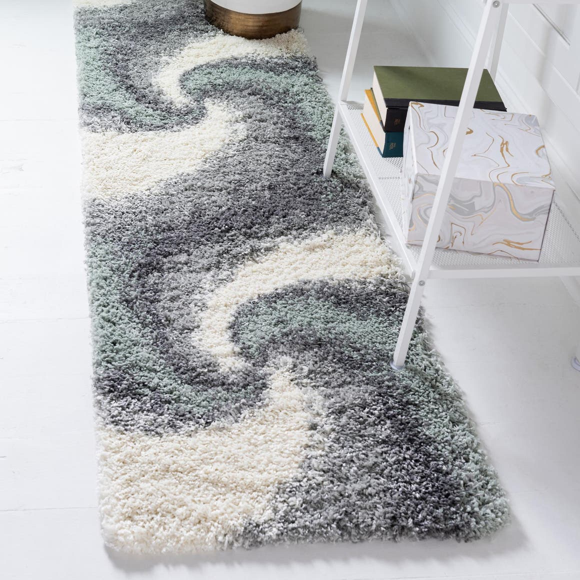 2' 7 x 13' Soft Touch Shag Runner Rug main image