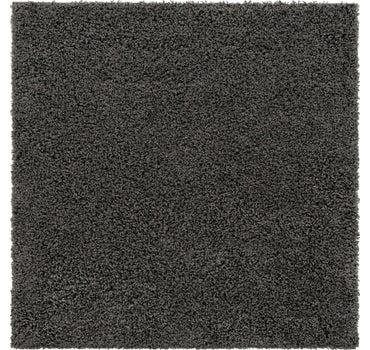 5' x 5' Solid Shag Square Rug main image