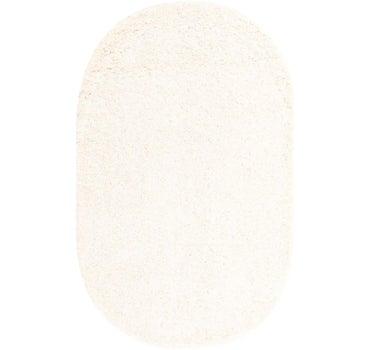 5' x 8' Solid Shag Oval Rug main image