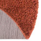 8' x 10' Solid Shag Oval Rug thumbnail
