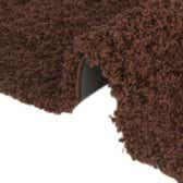 5' x 8' Solid Shag Oval Rug thumbnail