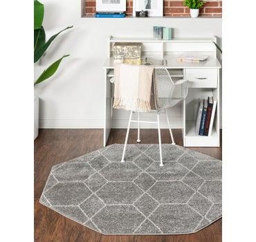7' 10 x 7' 10 Trellis Frieze Octagon Rug main image