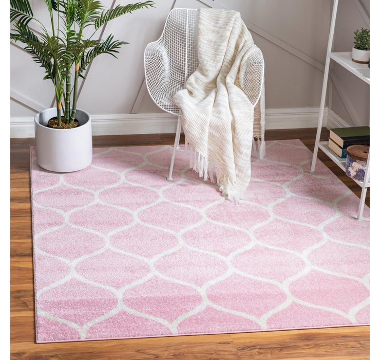 240cm x 240cm Trellis Frieze Square Rug