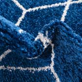 4' x 6' Trellis Frieze Oval Rug thumbnail