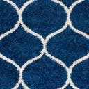 3' x 3' Lattice Frieze Round Rug