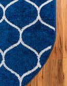7' 10 x 10' Trellis Frieze Oval Rug thumbnail