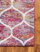 6' x 6' Trellis Frieze Square Rug thumbnail