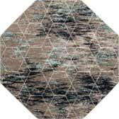 7' 10 x 7' 10 Trellis Frieze Octagon Rug thumbnail