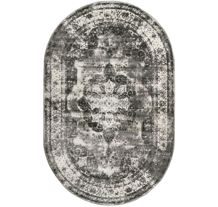 5' x 8' Monte Carlo Oval Rug