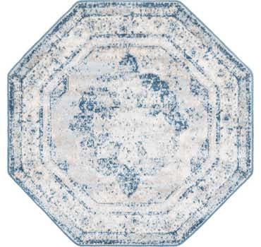 Image of  Blue Monte Carlo Octagon Rug
