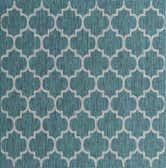 8' x 8' Outdoor Trellis Square Rug thumbnail