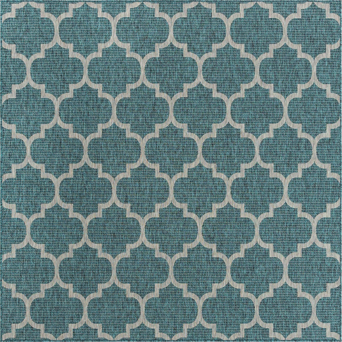 8' x 8' Outdoor Trellis Square Rug main image
