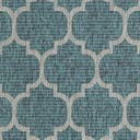 5' x 8' Outdoor Trellis Oval Rug