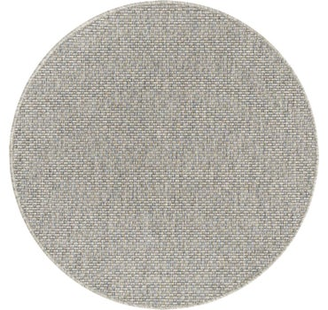4' x 4' Outdoor Solid Round Rug main image
