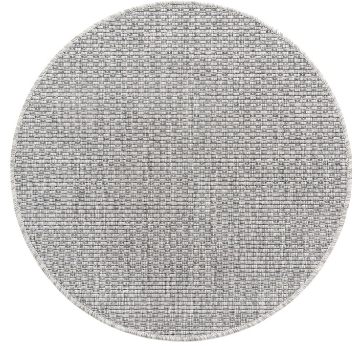 100cm x 100cm Outdoor Solid Round Rug