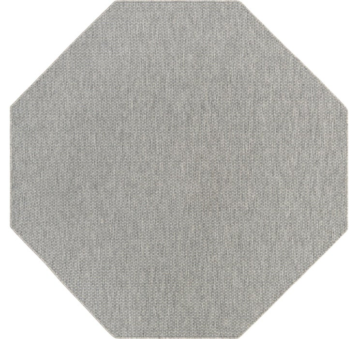 245cm x 245cm Outdoor Solid Octagon Rug