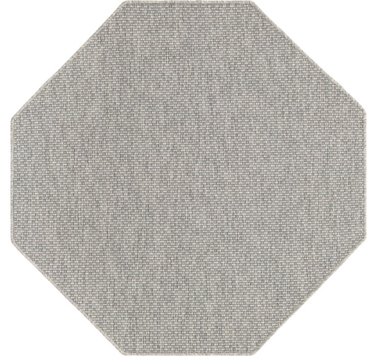 152cm x 152cm Outdoor Solid Octagon Rug