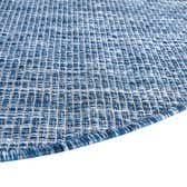 10' 8 x 10' 8 Outdoor Solid Round Rug thumbnail