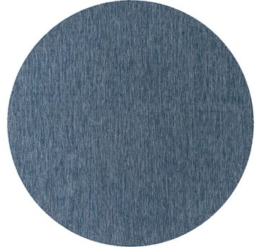 8' x 8' Outdoor Solid Round Rug main image