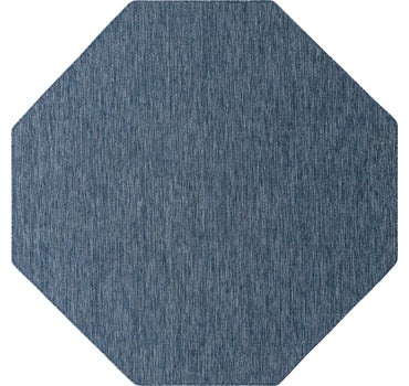 8' x 8' Outdoor Solid Octagon Rug main image