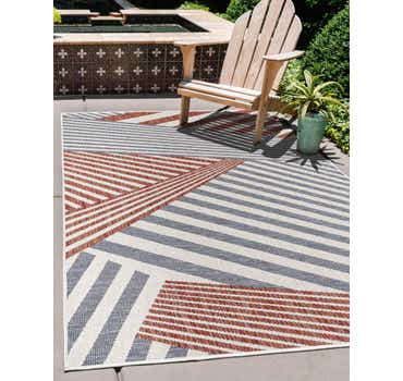 Image of  Blue Jill Zarin Outdoor Rug