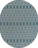 7' 10 x 10' Jill Zarin Outdoor Oval Rug thumbnail