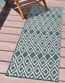 60cm x 183cm Jill Zarin Outdoor Runner Rug thumbnail