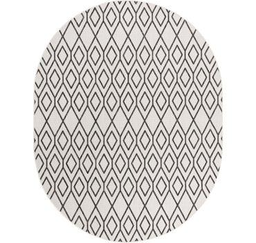 7' 10 x 10' Jill Zarin Outdoor Oval Rug main image