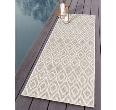 Image of 2' x 8' Jill Zarin Outdoor Runn...