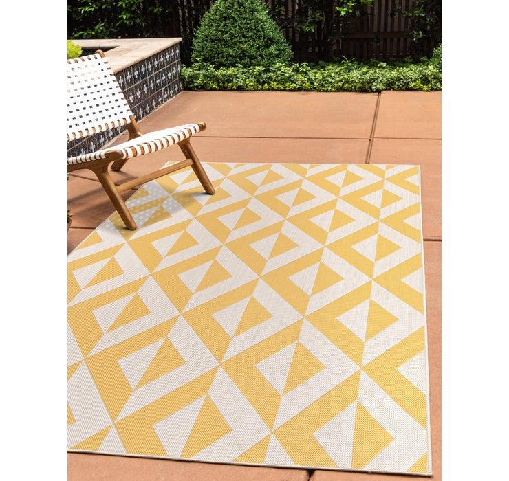 Image of 5' 3 x 7' 3 Jill Zarin Outdoor Rug