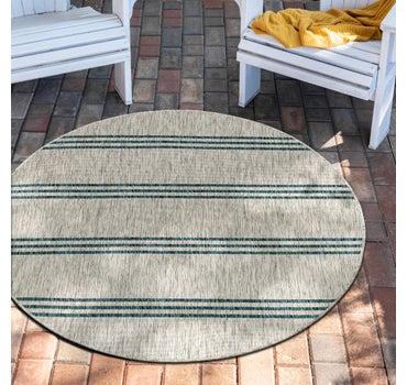 6' 7 x 6' 7 Jill Zarin Outdoor Round Rug