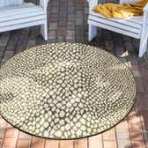122cm x 122cm Jill Zarin Outdoor Round Rug thumbnail