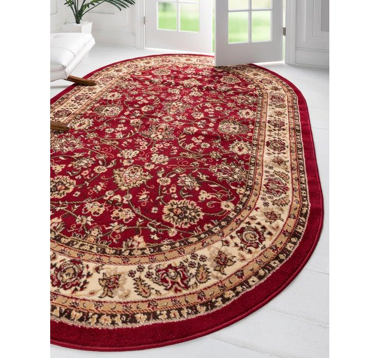 152cm x 245cm Kashan Design Oval Rug