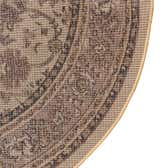 4' x 4' Kashan Design Round Rug thumbnail