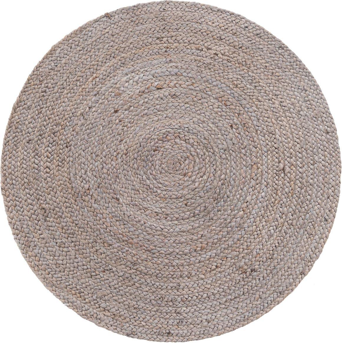 3' 3 x 3' 3 Braided Jute Round Rug main image