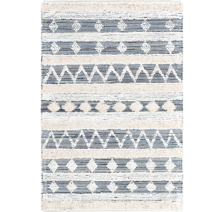 152cm x 245cm Cotton Chindi Rug