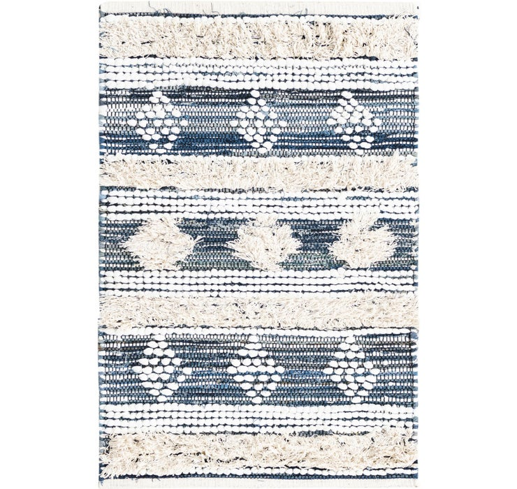 60cm x 90cm Cotton Chindi Rug