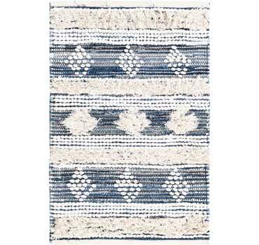 2' x 3' Cotton Chindi Rug