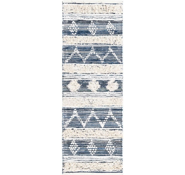 65cm x 183cm Cotton Chindi Runner Rug