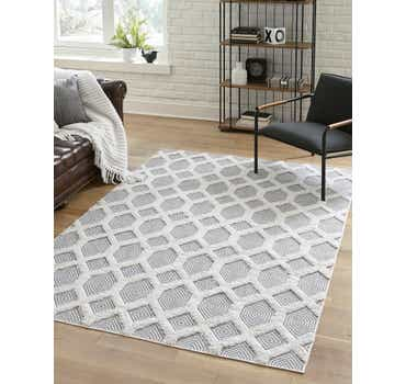 Image of  Anthracite Gray Sabrina Soto Casa Rug