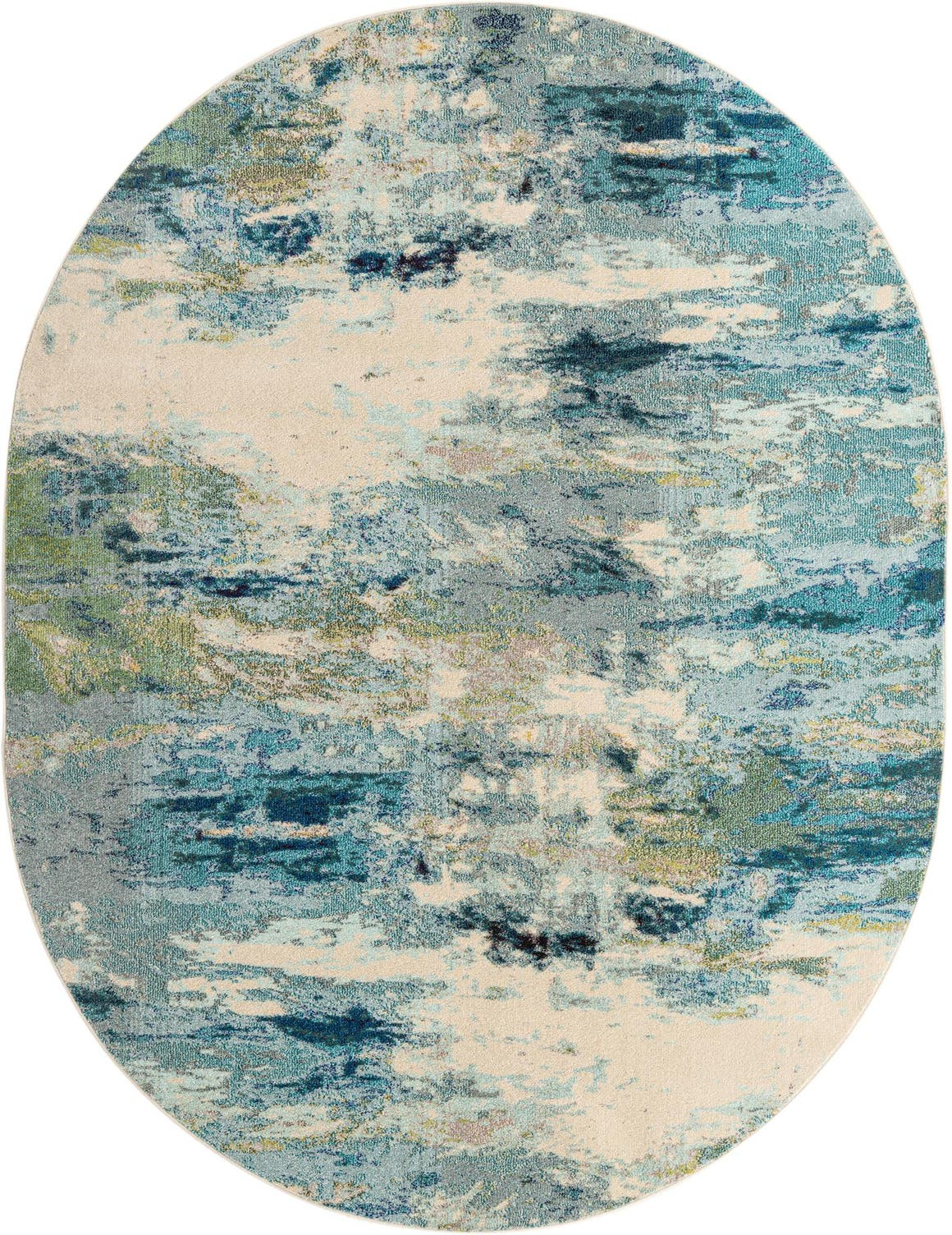 8' x 10' Spectrum Oval Rug main image